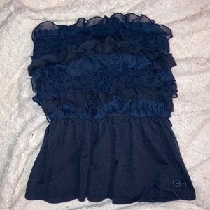 Gilly Hicks Sydney Ruffle Strapless Tube Top